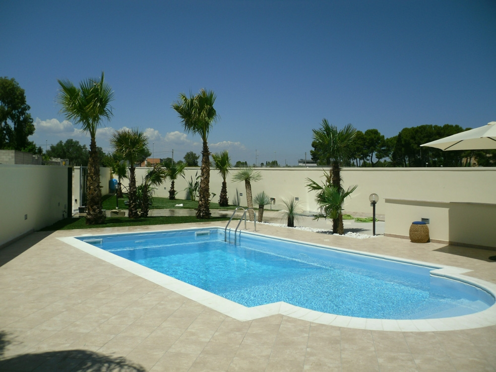Vivai mello alessandro realizzazioni giardini - Giardini con piscina foto ...